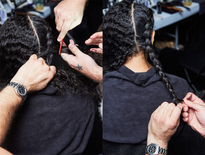 Veda, braids, workout, hairstyle