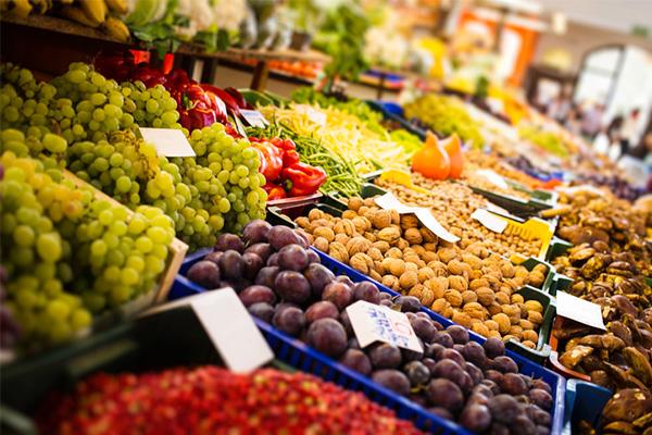 markets, marketplace, fruit, vegetables, stalls