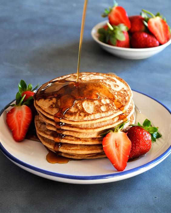 pancakes, healthy pancakes, buckwheat pancakes, pancake