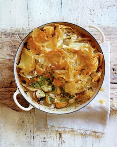 Spring Chicken Pie, chicken recipe, Jamie Oliver
