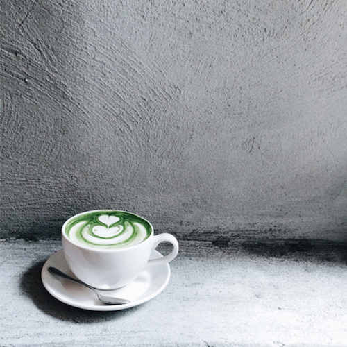 Matcha tea, coffee alternatives