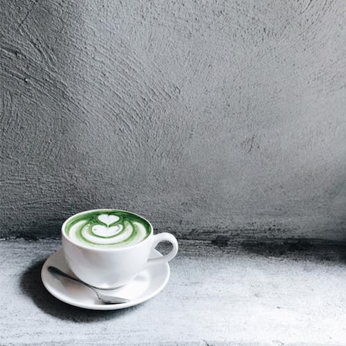 Matcha tea, coffee alternatives