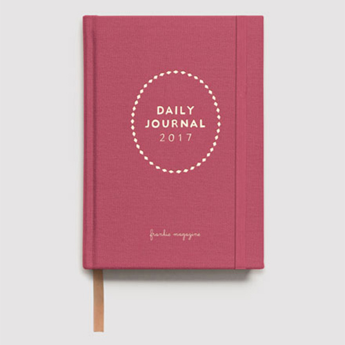 Frankie Press, diaries 2017, stationery, desk, office