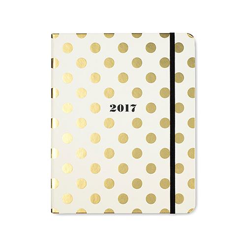 Kate Spade 2017 diary, diaries, organised desk, office