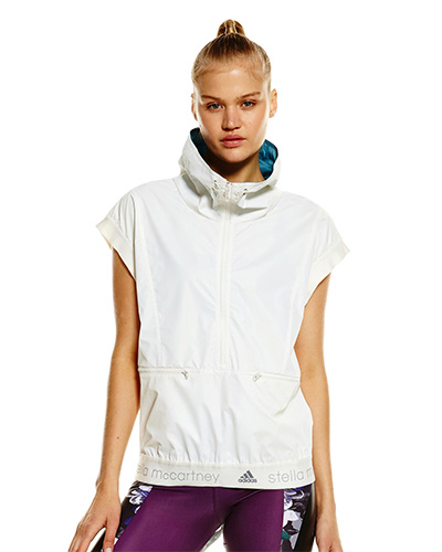 Adidas by Stella McCartney Run Reflective Gilet, Julie Stevanja, fashion, activewear, athleisure, Stylerunner