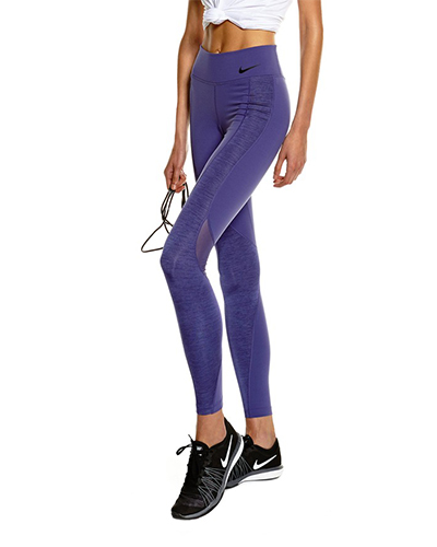 Nike Power Legendary Veneer Tight, Julie Stevanja, Stylerunner, workout tights
