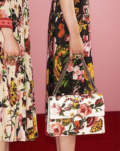 Gucci Garden Collection, Julie Stevanja, Stylerunner, florals