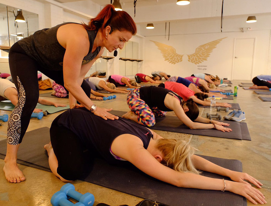 Luxe Yoga, new studio
