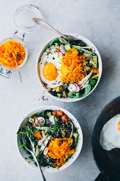 Green kitchen stories hippie bowl, nourish bowl