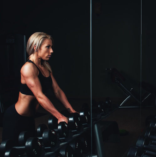 Weight training, exercise, working out, get fit, bedtime routine