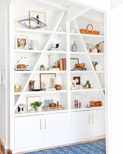 Shelf, styling, interior design, bookshelf