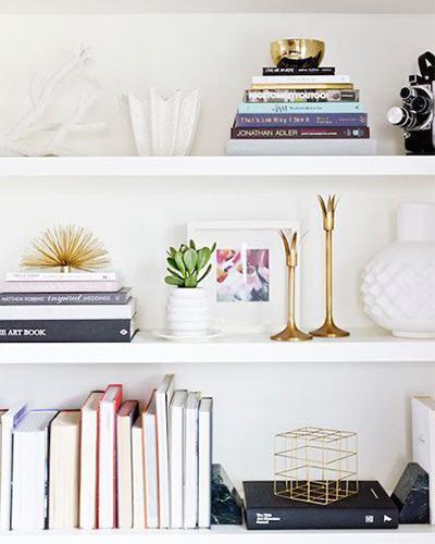 Shelf, bookshelf styling, interior design
