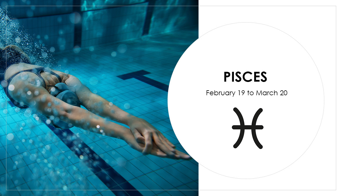 Pisces, workout, star sign, astrology, swimming