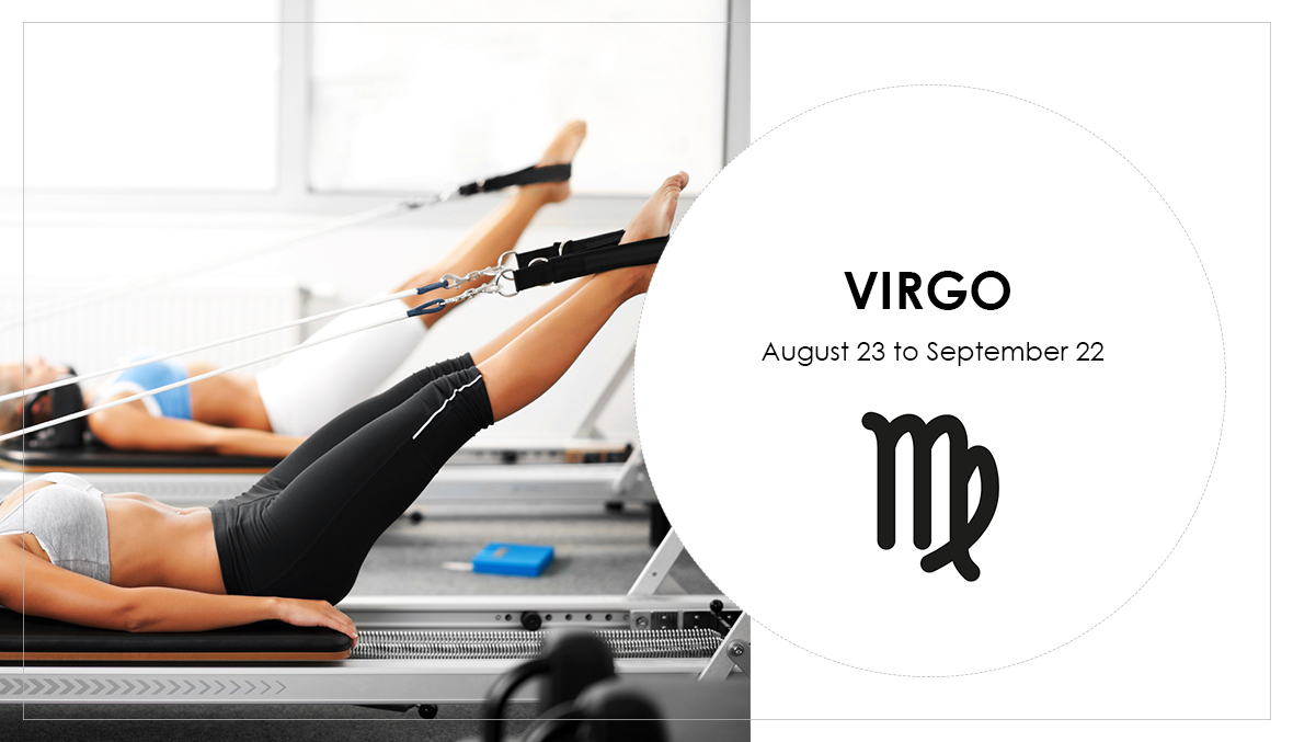 Virgo, Pilates, star sign, astrology, horoscope, workouts