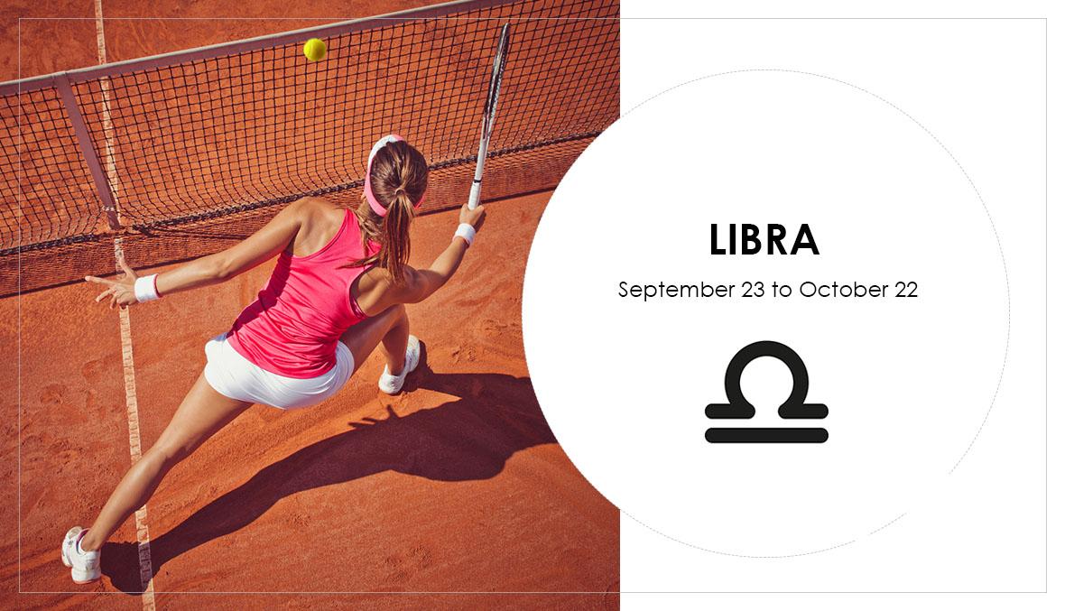 Libra, star sign, horoscope, tennis