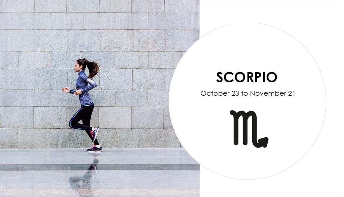 Scorpio, star sign, horoscope, astrology, running