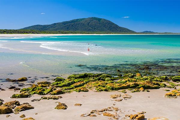 Diamond Beach, holiday, travel, staycation, beach