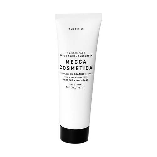 Mecca Cosmetica, facial sunscreen, sunscreens, sun protection, breakouts