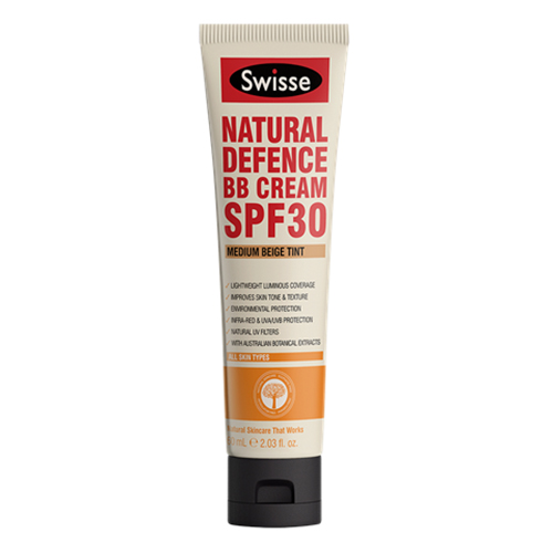 swisse natural defence BB cream, BB cream with SPF
