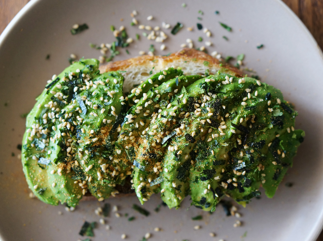 avocado toast, wellness stories