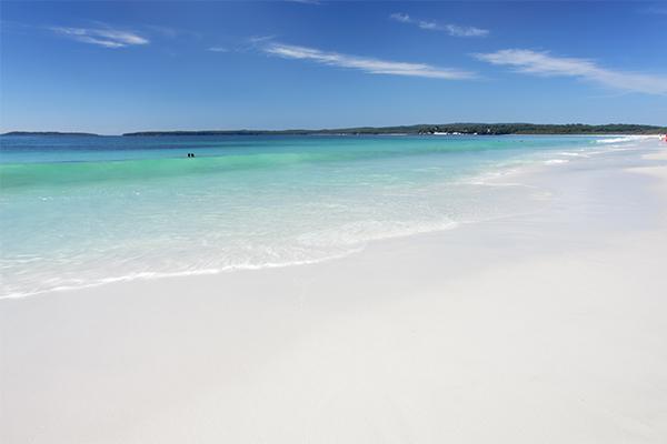 Hayes Beach, Jervis Bay, Australia, white sand