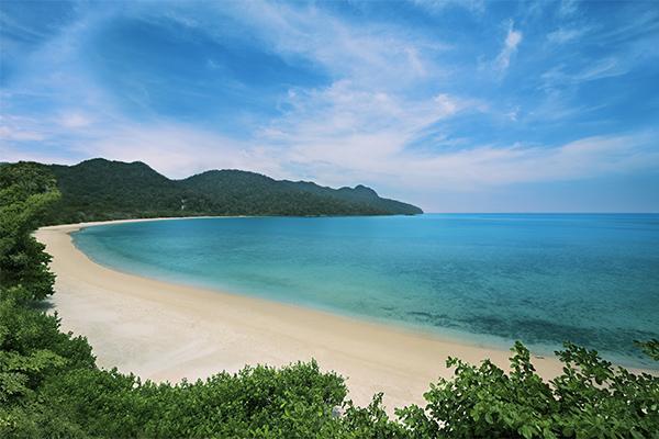 Datai Bay, Langkawi, white sand beaches