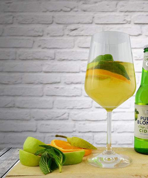 Low Sugar Cider Sangria, cocktails, holidays, Christmas