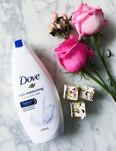 Dove, body wash
