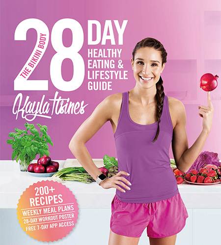 The Bikini Body 28-Day Healthy Eating & Lifestyle Guide, Kayla Itsines, macros, macronutrients, counting calories