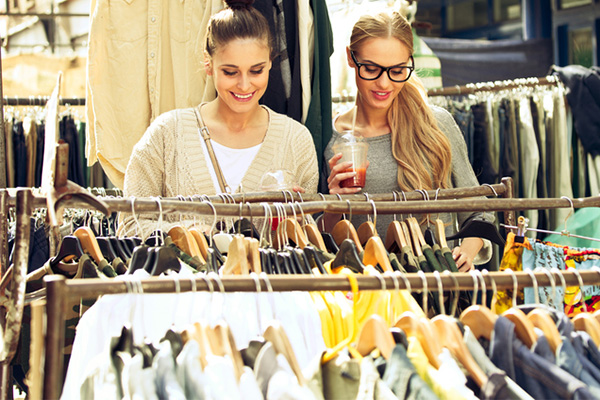 selling clothes, how to save money, Christmas, festive season, markets
