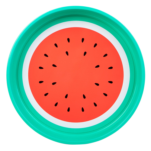sunnylife watermelon tray, pool party essentials