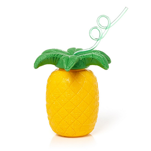 pineapple drink cups, pineapple sipper, pool party essentials