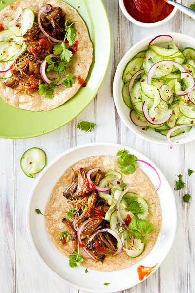 korean beef tacos, beef taco recipe, pulled beef taco recipe