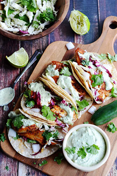 blackened fish tacos recipe, blackened fish tacos, fish tacos,