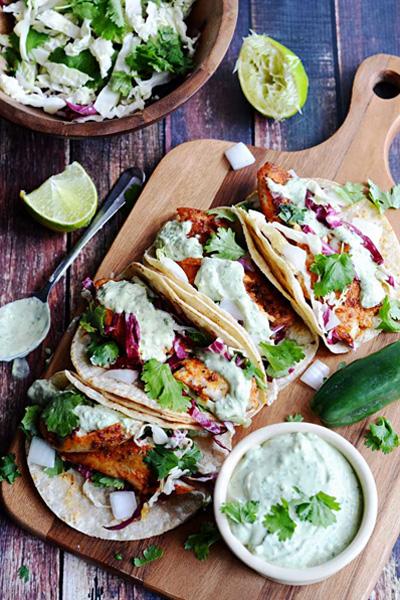 blackened fish tacos recipe, blackened fish tacos, fish tacos,