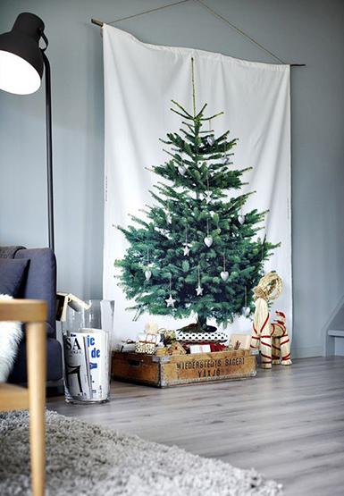 xmas decorations, christmas tree