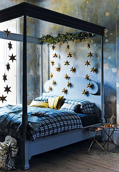 xmas, Christmas decorations, bedroom