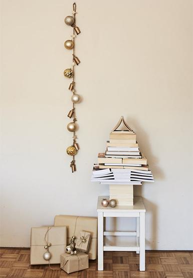 xmas, Christmas decorations, book tree