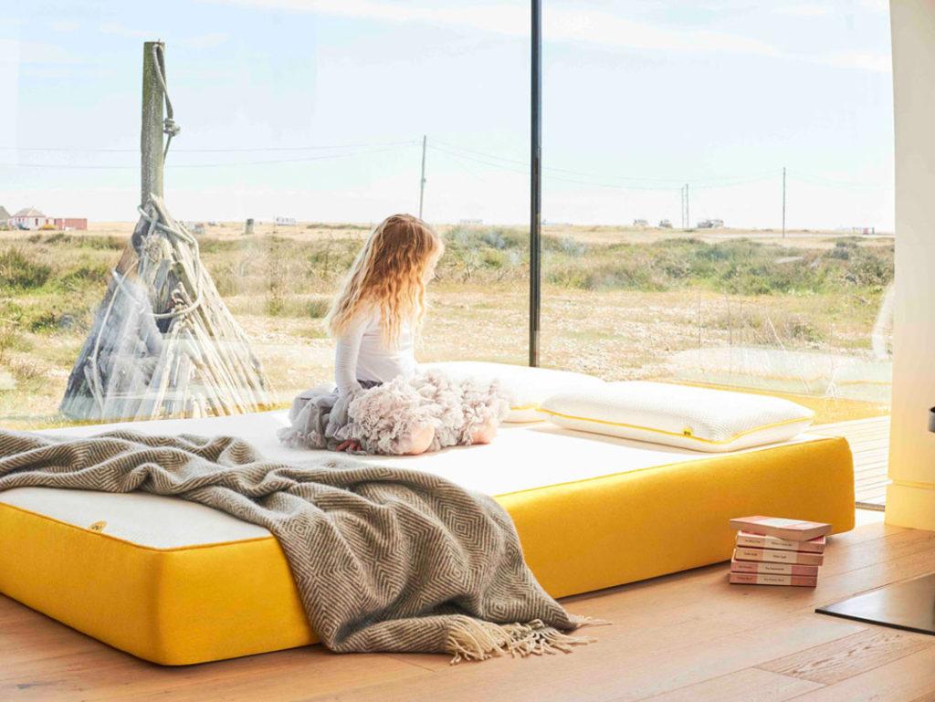Eve mattress, sleeping