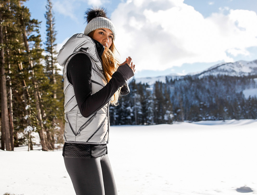 Bianca Cheah, cold weather, ski, snow