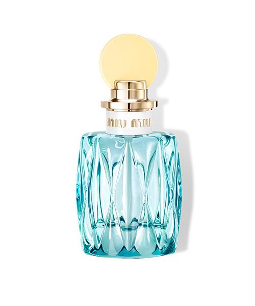 Miu Miu L'Eau Bleue, new beauty products