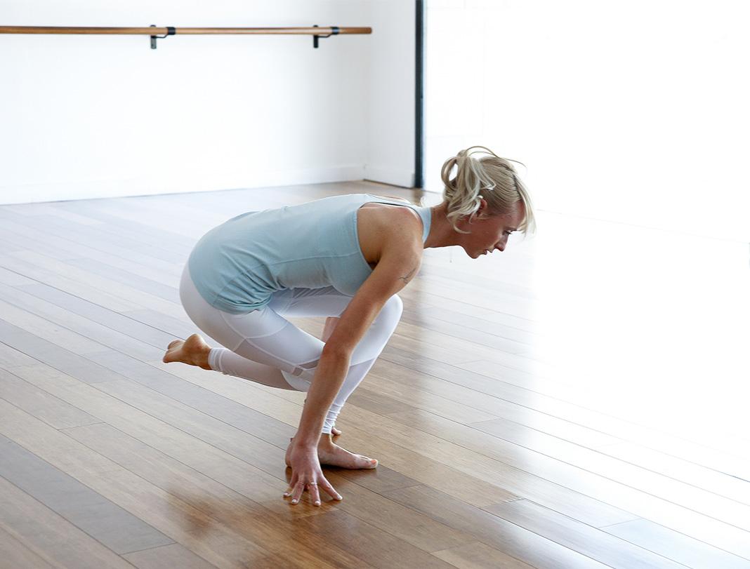 Courtesy Lunge, balance, booty, yoga, workout