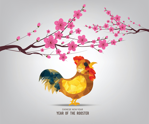 Chinese New Year, Year of the rooster, zodiac