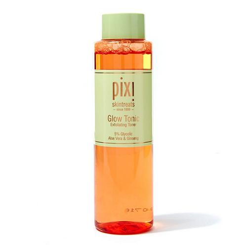 pixie glow tonic, exfoliants, glowing skin