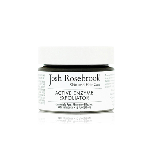Josh Rosebrook, exfoliants, exfoliator, glowing skin