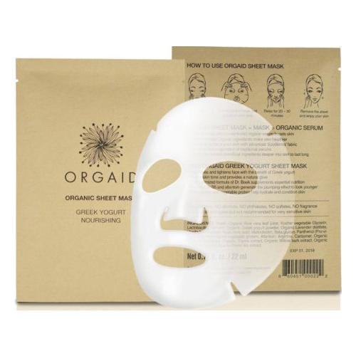 ORGAID, sheet mask, skincare, organic