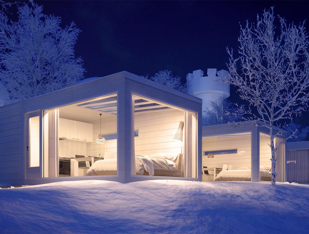 Kemi Seaside Glass Villas, Finland