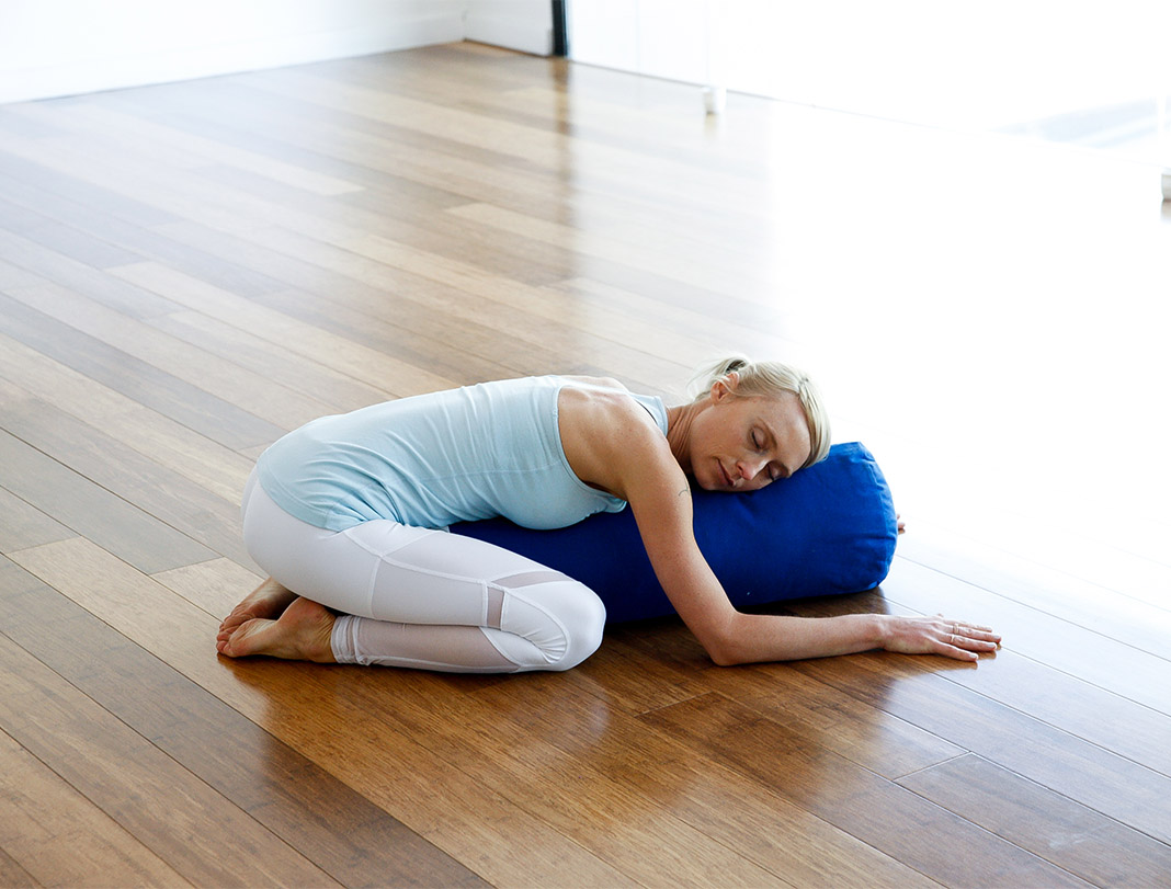 Child's Pose, rest, Kate Kendall, restorative yoga, yoga poses