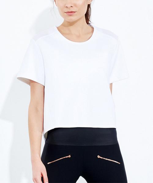 ADAY, white top, wardrobe