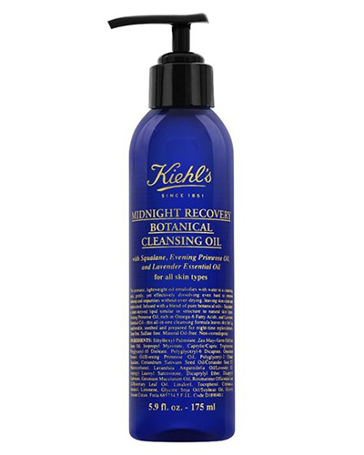 Kiehl's Midnight Recovery Botanical Cleansing Oil, new beauty products, March